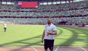 Discus thrower Ivan Katanušić wins silver at Tokyo Paralympic Games
