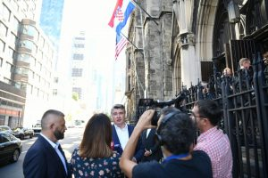 President tells Croatian community in New York: Croatia is a safe country, its up to us to keep it that way