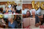 The Queen congratulates Neda in Croatia on her 100th birthday