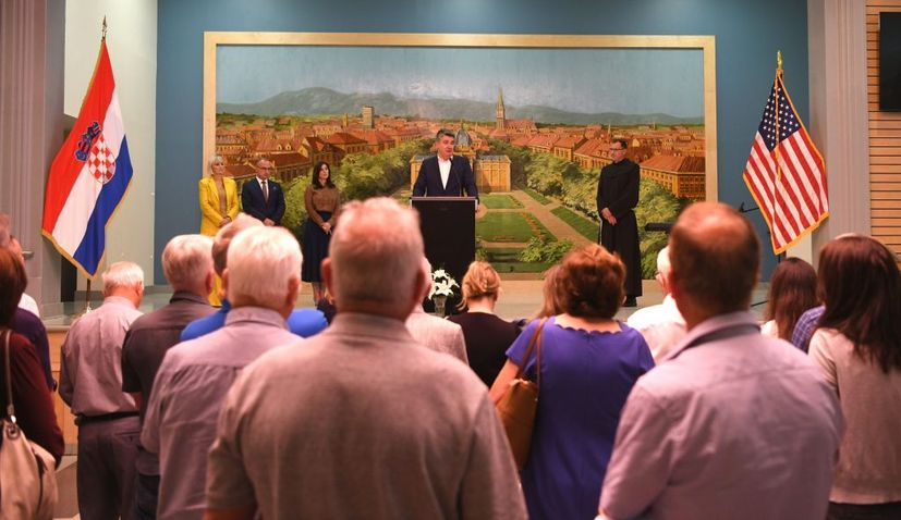 President tells Croatian community in New York: Croatia is a safe country, it is up to us to keep it that way