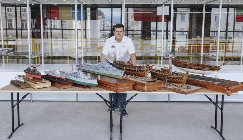 Croatia's Roland Vlahović dominates World Ship-Modelling competition