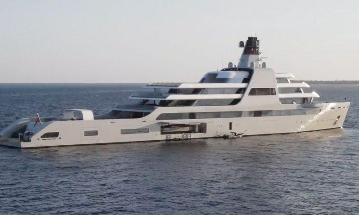 VIDEO: World's most expensive custom yacht sails into Croatia