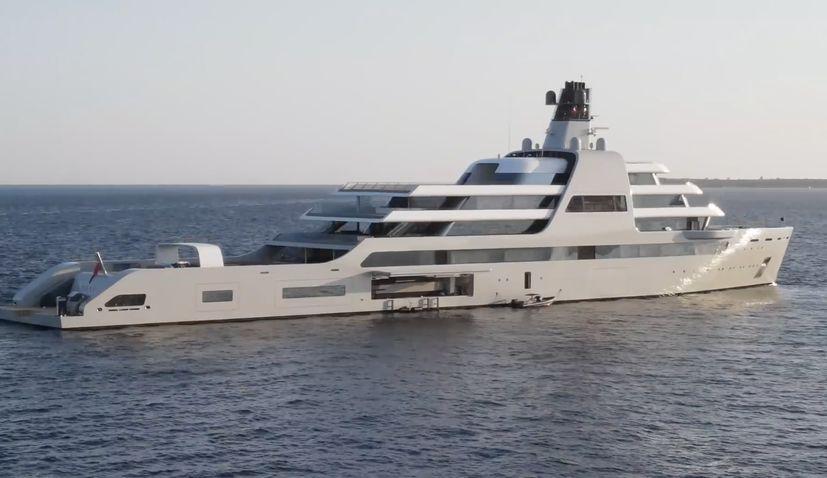 World's most expensive custom yacht sails into Croatia