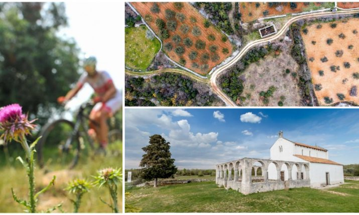 Discover Vodnjan's religious puzzles by walking or cycling