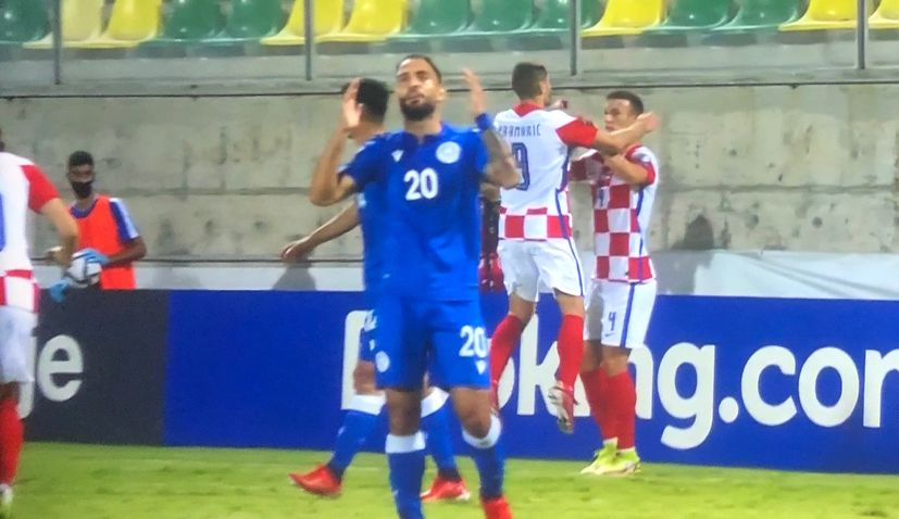 Croatia beats Cyprus to remain top of World Cup qualifying group