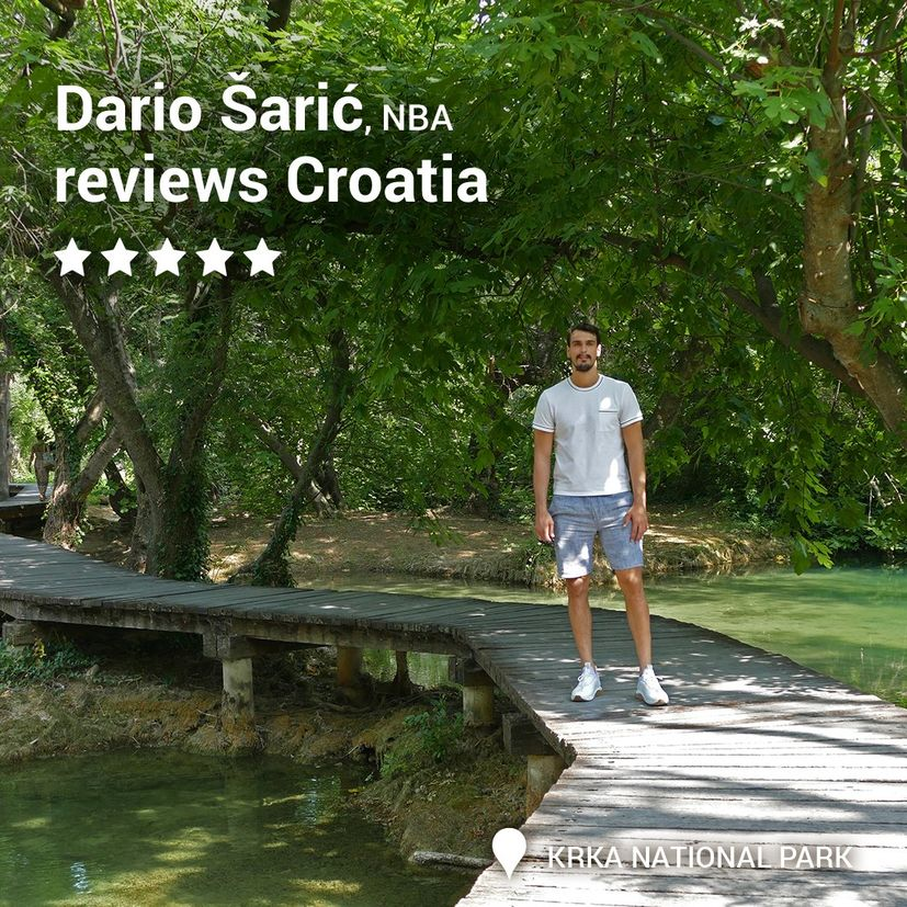 Croatian sport stars join new tourist board thank you campaign