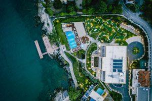 Stunning Croatian hotel park wins prestigious landscape design award
