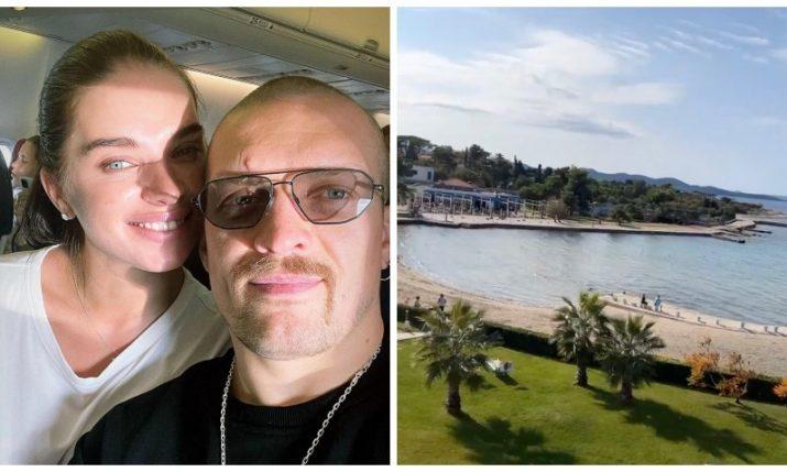 World heavyweight boxing champion Oleksandr Usyk arrives in Croatia