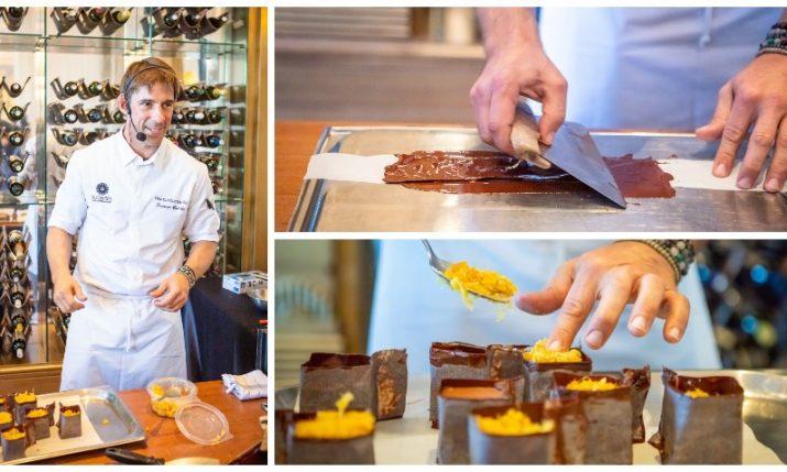World-class French-Croatian chocolatair gives masterclass at Zagreb's Esplanade