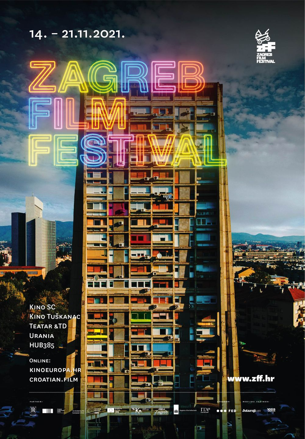 FIRST HITS REVEALED AHEAD OF THE 19th ZAGREB FILM FESTIVAL