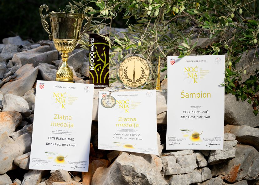 The taste of the sea in an amphora - the olive oil of a small family farm from Hvar is conquering the world
