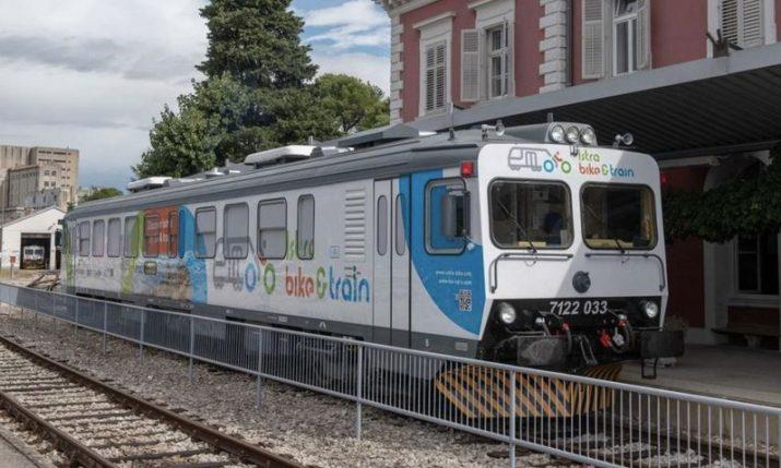 New Pula-Buzet bike-friendly train presented