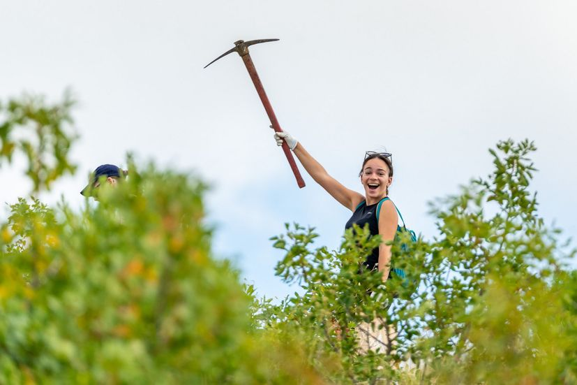 Australians, Brits and South Africans join locals in afforestation action in S