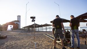 Infinity Pool starring Alexander Skarsgård filming in Šibenik