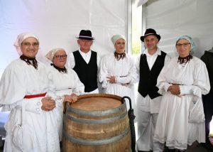 Traditional diplomatic grape harvest held at Jastrebarsko