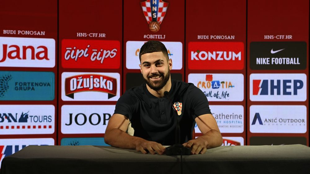 Stanišić to make Croatia debut against Cyprus, change of position for Gvardiol