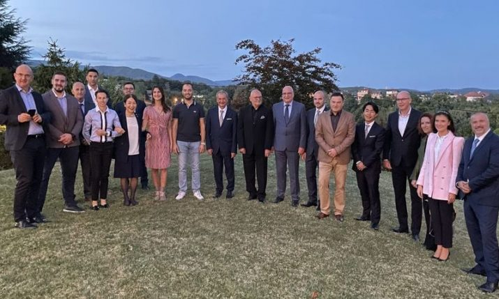 Japanese Embassy in Zagreb organises reception for Croatian Olympic, Paralympic athletes