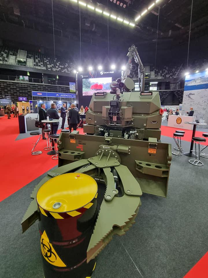 Innovative Croatian robotic system Komodo premiered at ASDA