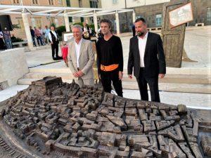 Old Town of Šibenik sculpture unveiled