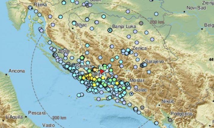 4.6 magnitude earthquake hits Dalmatia