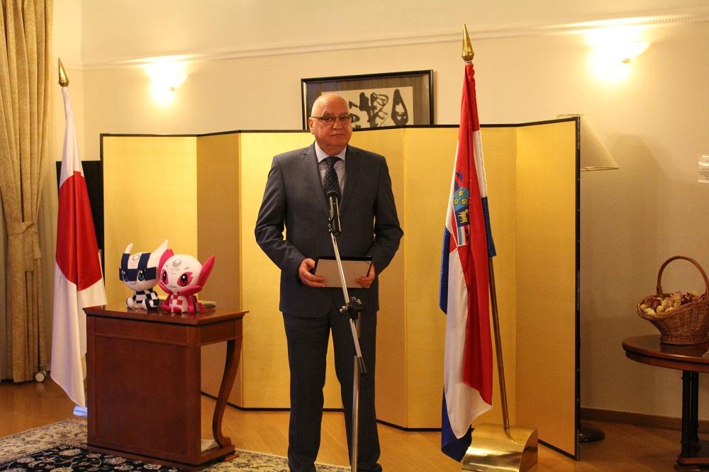 Japanese Embassy organises reception for Croatian Olympic, Paralympic athletes
