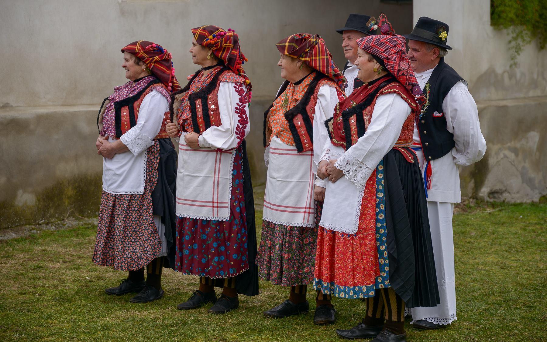 Traditional Croatian wedding