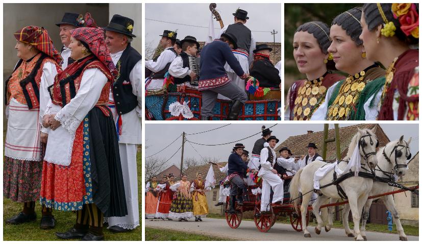 Celebrating a traditional Croatian wedding - as it was a century ago