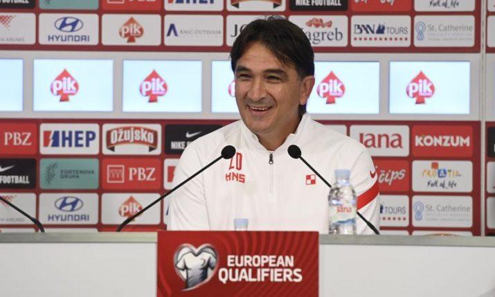 Dalić announces changes for World Cup qualifier against Slovakia